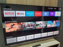 Título do anúncio: Smart tv 65 4k hdr telão de cinema modelo novo zero 3 anos de garantia completa