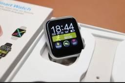 Relógio SmartWatch, 2021 W98 - Temperatura, Tela Full de 1.75P