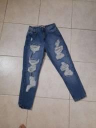 Título do anúncio: Calça  Jeans Mom Nova