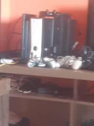 Título do anúncio: 2 xbox360, ps2 fat ,ps3 vai tv monitor