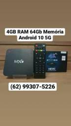 TV Box Mx9 Transforme Sua TV Em Smart Conversor 4K Gamer