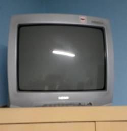Tv  14 de tubo com controle