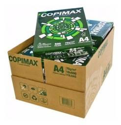 Título do anúncio: Caixa Papel Sulfite A4 75G - Copimax 5.000 Folhas.