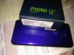 Título do anúncio: Vendo g9 Play 64GB na garantia