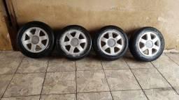 Título do anúncio: Jogo de rodas Audi A3