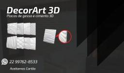 Título do anúncio: Placas 3D