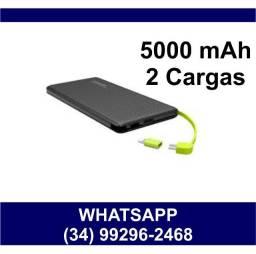 Carregador Portátil Slim 5000 mAh