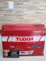 Tudor 60ah Zetta Heliar Moura Kondor Vision e Eletran a preço de distribuidora.