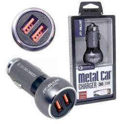 Carregador Veicular Turbo 35W Qualcomm Quick Charge 3.0 20503T It-Blue 2 Usb e Cabo Tipo C
