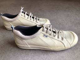 Título do anúncio: Tênis em couro branco Keds Tam 37