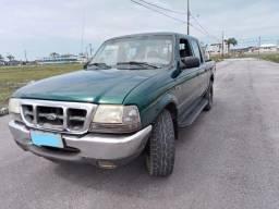 Título do anúncio: Vendo Ranger 2000 gasolina/GNV 4x4