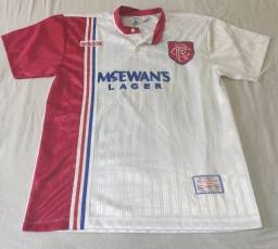 Camisa do Glasgow Rangers da Escócia Oficial II Adidas 1996