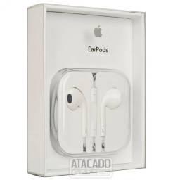 Fone de ouvido Apple 1. linha EarPods 3.5 Android tbm branco Connector P2