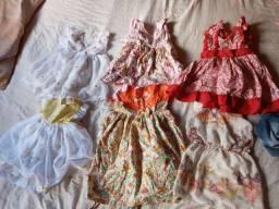 Lot de roupa de menina