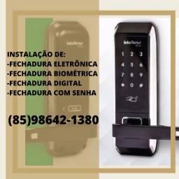 Título do anúncio: Fechadura eletrônica - Instalação disponível