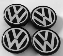 Título do anúncio: Jogo calotas centrais roda original VW gol G4
