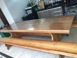 Título do anúncio: Mesa madeira angico