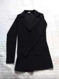 Título do anúncio: Blazer max feminino preto