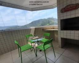 Título do anúncio: Lindo apartamento 2 quartos, varanda gourmet, mobiliado e decorado-Mongaguá