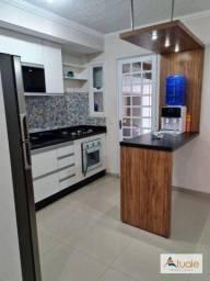 Título do anúncio: Casa com 2 dormitórios à venda, 69 m² por R$ 320.000,00 - Villa Flora Hortolandia - Hortol