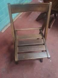 Título do anúncio: mesas e cadeiras de madeira