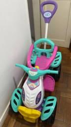 Quadriciclo menina Maral, multicor