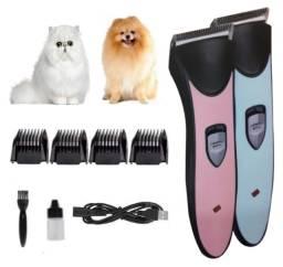 Título do anúncio: Maquina Tosa Sem Fio Caes Gatos Cachorros 4 Pentes Animal Estimação Todos Tamanhos Aiker