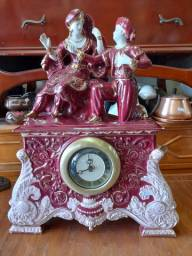 Relógio antigo de porcelana