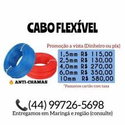 Título do anúncio: CABO FLEXÍVEL (Para instalação elétrica)