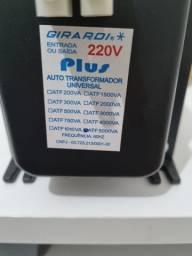 Auto transformador PLUS 110V/220V - GIRARDI