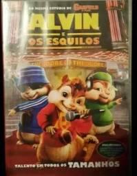 DVD's Alvin e os Esquilos