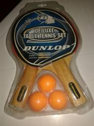 Jogo de Tênis, marcar Dunlop!