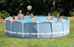 Vendo piscina de 16,805 L usada somente 1 vez