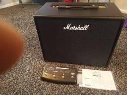 Marshall Code 50 Bivolt + Footswitch Novinho (tudo Na Caixa)