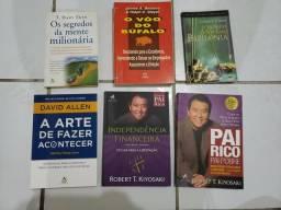 Vendo livros de empreendedorismo e produtividade