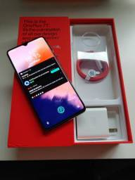 Oneplus 7t silver frosted lançamento