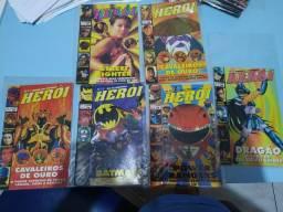 Coleção de revistas Herói