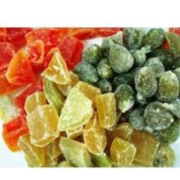 Doces cristalizado e variedades