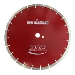 Disco Diamantado 350mm . Segmentado Red Diamond
