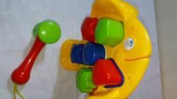 Brinquedo de encaixes peixinhos