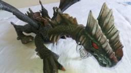 Dragão articulado tamanho 30cm