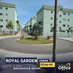 Apartamento  com 3 quartos no Residencial Royal Garden - Bairro Anexo Itamaraty em Anápoli