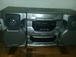 Radio com CD e toca fita/ 750W- marca gradienre