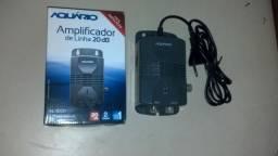 Amplificador de Linha 20 dB marca Aquário