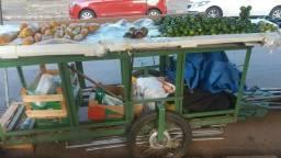 Carrinho de Vende Frutas e Legumes