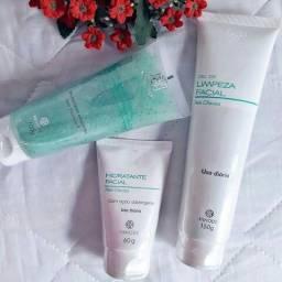 Kit de limpeza facial