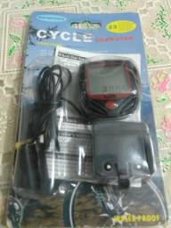 Velocimetro de bike com relogio