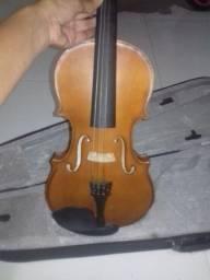 Violino Allegro Tagima T-1500 Seminovo acompanha case, arco, breu e ombreira
