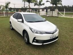 Toyota Corolla gli upper 2019 automático branco pérola