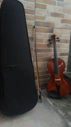 Viola de Arco/ Viola Clássica Semi-novo com estojo